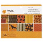 Martha Stewart Crafts - Classic Halloween Collection - Mat Paper Pad