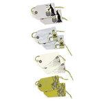 Martha Stewart Crafts - Elegant Witch Collection - Halloween - Gift Tags