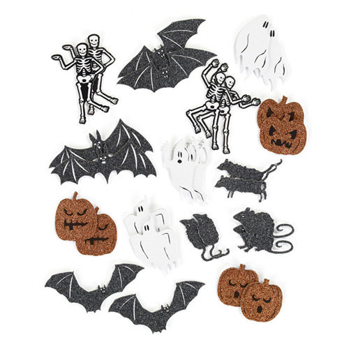 Martha Stewart Crafts - Classic Halloween Collection - Chipboard Stickers