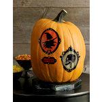 Martha Stewart Crafts - Classic Halloween Collection - Pumpkin Transfers with Gemstones