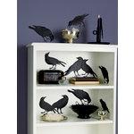 Martha Stewart Crafts - Halloween - Silhouettes - Glittered Crow