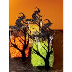 Martha Stewart Crafts - Halloween - Cellophane Treat Bags - Glittered Witch