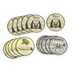 Martha Stewart Crafts - Elegant Witch Collection - Halloween - Coasters