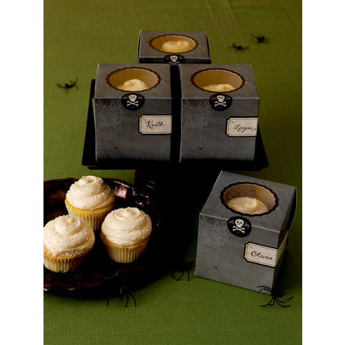 Martha Stewart Crafts - Halloween Collection - Cupcake Boxes - Haunted