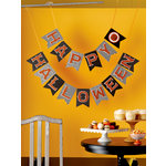 Martha Stewart Crafts - Halloween Collection - Garland - Carnival Happy Halloween