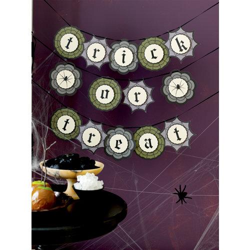 Martha Stewart Crafts - Halloween Collection - Garland - Haunted Trick or Treat