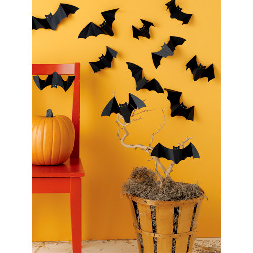Martha Stewart Crafts - Halloween Collection - 3 Dimensional Silhouettes - Bat