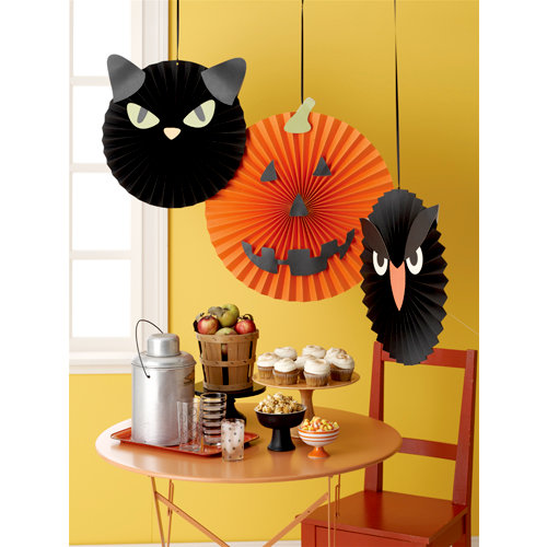 Martha Stewart Crafts - Halloween Collection - Paper Rosettes - Carnival