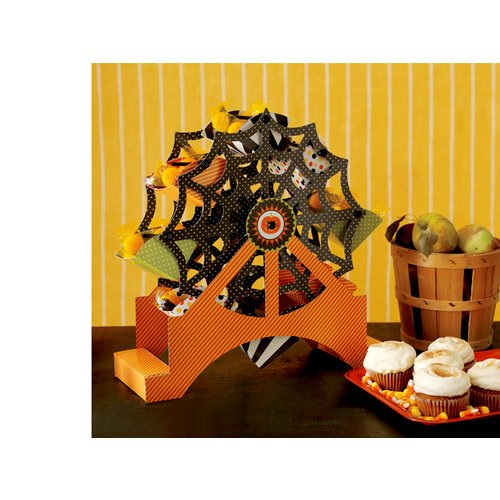 Martha Stewart Crafts - Halloween Collection - Ferris Wheel Centerpiece - Carnival