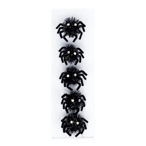 Martha Stewart Crafts - Halloween Collection - Pom Pom Stickers - Carnival Spider