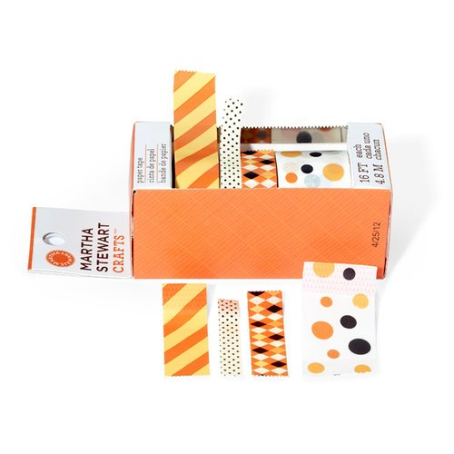 Martha Stewart Crafts - Halloween Collection - Paper Tape - Carnival