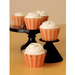 Martha Stewart Crafts - Halloween Collection - Die Cut Cupcake Treat Wrappers - Carnival