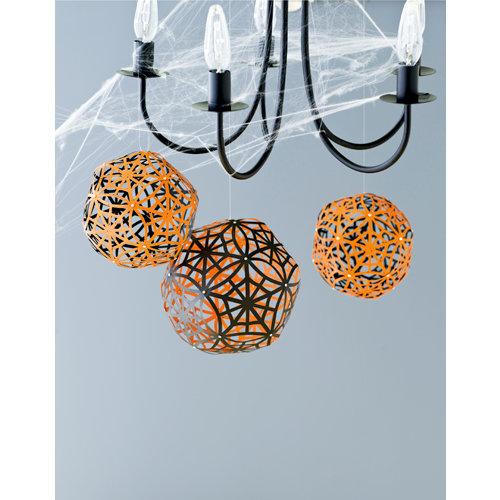 Martha Stewart Crafts - Halloween Collection - Party Globes - Spiderwebs