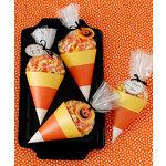 Martha Stewart Crafts - Animal Masquerade Collection - Halloween - Candy Corn Treat Bags