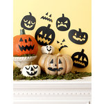 Martha Stewart Crafts - Animal Masquerade Collection - Halloween - Jack O Lantern Silhouettes