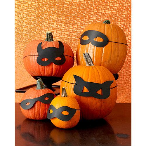 Martha Stewart Crafts - Animal Masquerade Collection - Halloween - Pumpkin Masks