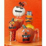 Martha Stewart Crafts - Animal Masquerade Collection - Halloween - Pumpkin Faces