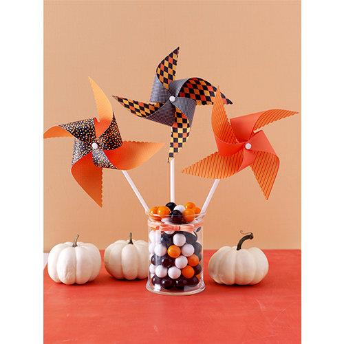 Martha Stewart Crafts - Animal Masquerade Collection - Halloween - Pinwheel Kit