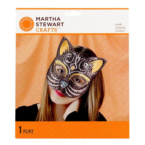 Martha Stewart Crafts - Animal Masquerade Collection - Halloween - Decorative Mask - Cat