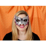 Martha Stewart Crafts - Animal Masquerade Collection - Halloween - Decorative Mask - Spiderweb