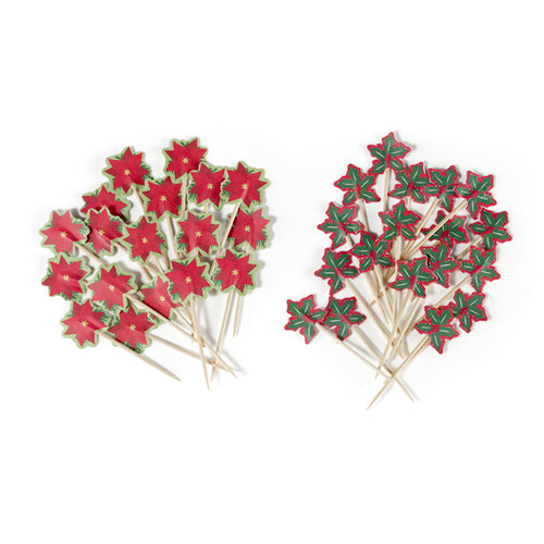 Martha Stewart Crafts - Woodland Collection - Christmas - Mini Food Picks