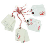 Martha Stewart Crafts - Snowflace Collection - Christmas - Gift Tags