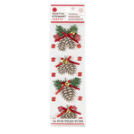Martha Stewart Crafts - Woodland Collection - Christmas - Stickers - Pinecone