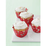 Martha Stewart Crafts - Woodland Collection - Christmas - Die Cut Cupcake Treat Wrappers
