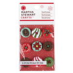 Martha Stewart Crafts - Woodland Collection - Christmas - Buttons