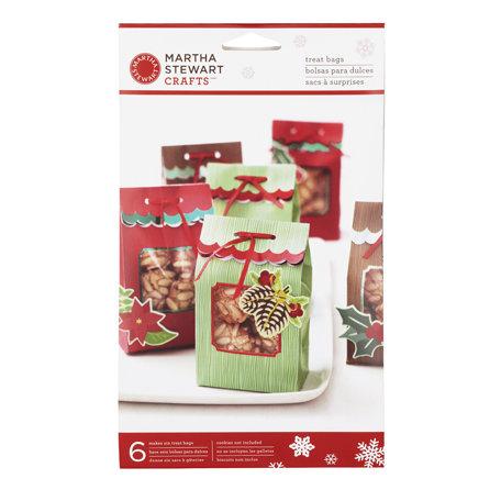 Martha Stewart Crafts - Woodland Collection - Christmas - Die Cut Treat Bags