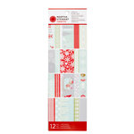 Martha Stewart Crafts - Snowflace Collection - Christmas - Self Adhesive Border Pad