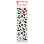 Martha Stewart Crafts - Woodland Collection - Christmas - Stickers - Birds and Branches