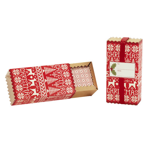 Martha Stewart Crafts - Cottage Christmas Collection - Treat Boxes