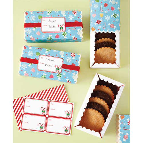 Martha Stewart Crafts - Wonderland Collection - Christmas - Treat Boxes
