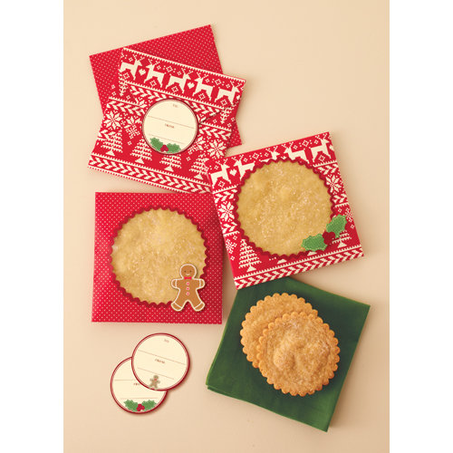 Martha Stewart Crafts - Cottage Christmas Collection - Treat Envelopes