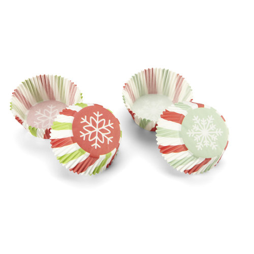 Martha Stewart Crafts - Wonderland Collection - Christmas - Cupcake Treat Wrappers