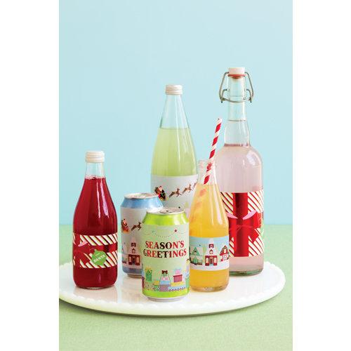 Martha Stewart Crafts - Wonderland Collection - Christmas - Beverage Labels