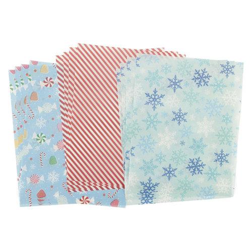 Martha Stewart Crafts - Wonderland Collection - Christmas - Tissue Paper