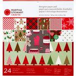 Martha Stewart Crafts - Cottage Christmas Collection - 12 x 12 Designer Paper Pad