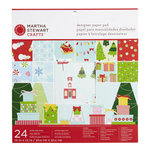 Martha Stewart Crafts - Wonderland Collection - Christmas - 12 x 12 Designer Paper Pad