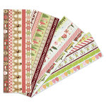 Martha Stewart Crafts - Cottage Christmas Collection - Adhesive Border Pad