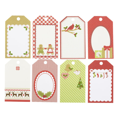 Martha Stewart Crafts - Cottage Christmas Collection - Tag Pad