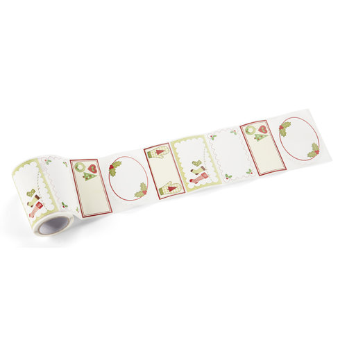 Martha Stewart Crafts - Cottage Christmas Collection - Adhesive Labels