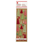Martha Stewart Crafts - Cottage Christmas Collection - 3 Dimensional Stickers - Tree