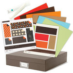 Martha Stewart Crafts - Halloween - 12 x 12 Storage Box and Paper Kit