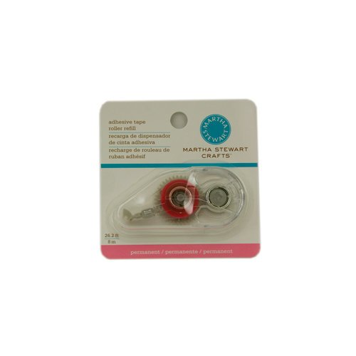 Martha Stewart Crafts - Adhesive Tape Roller - Refill - Permanent