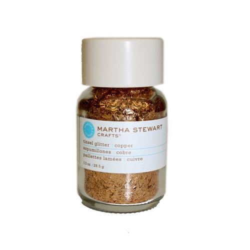 Martha Stewart Crafts - Tinsel Glitter - Copper