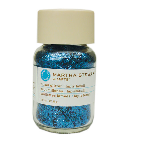 Martha Stewart Crafts - Tinsel Glitter - Lapis Lazuli