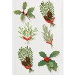 Martha Stewart Crafts - Holiday - 3 Dimensional Stickers - Branches