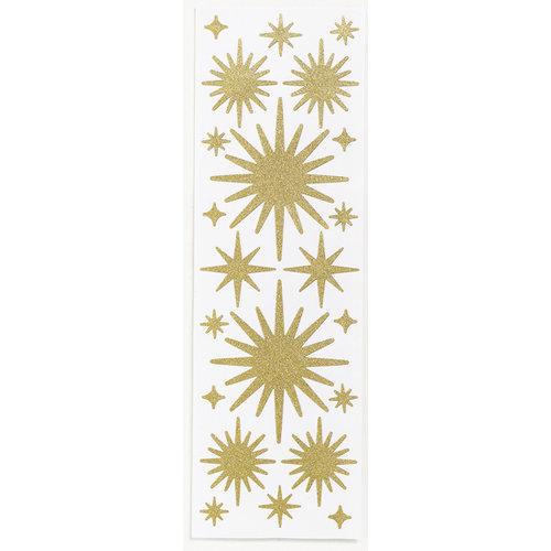 Martha Stewart Crafts - Holiday - Glitter Stickers - Stars